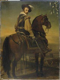 Charles II de Cosse | Jean Alaux | Oil Painting