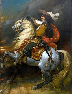 Le marechal de France Josias Rantzau | Jean Alaux | Oil Painting