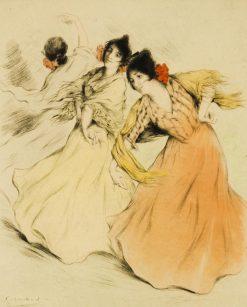 Flamenco Dancers | Allan Osterlind | Oil Painting