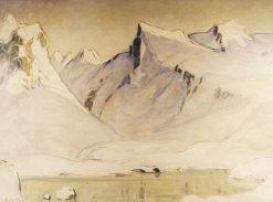 Lofoten Landscape | Anna Boberg | Oil Painting
