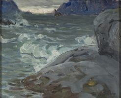 Study from North Norway   Anna Boberg   Oil Painting