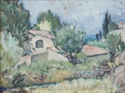 Study from the South of France   Anna Boberg   Oil Painting