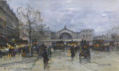 Gare de lEst | Eugene Galien-Laloue | Oil Painting