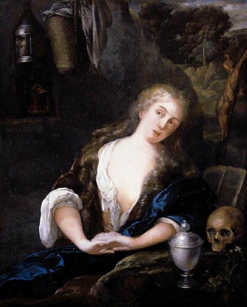 The Penitent Magdalene | Eglon Hendrick van der Neer | Oil Painting