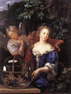 Allegory of Religion   Eglon Hendrick van der Neer   Oil Painting