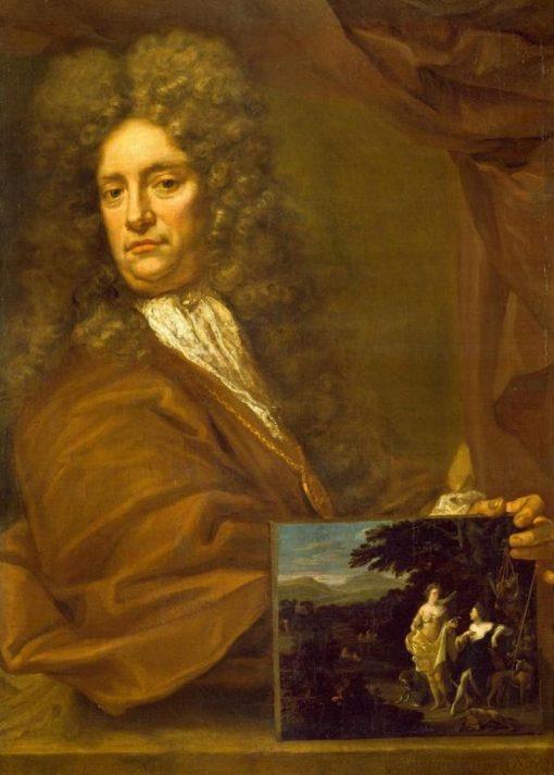 Self Portrait | Eglon Hendrick van der Neer | Oil Painting