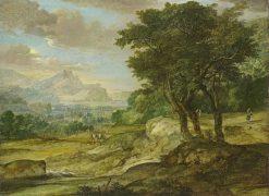Mountain Landscape | Eglon Hendrick van der Neer | Oil Painting