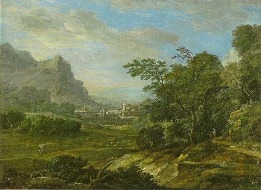 Mountain Landscape | Eglon Hendrick van der Neer | Oil Painting