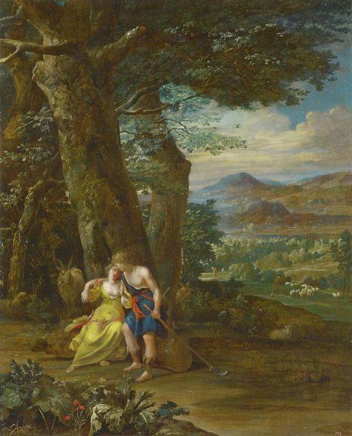 The Pastoral Scene | Eglon Hendrick van der Neer | Oil Painting