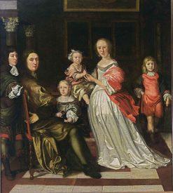 Family Portrait | Eglon Hendrick van der Neer | Oil Painting