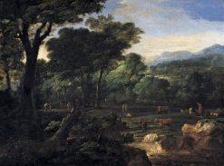 Pastoral Landscape | Eglon Hendrick van der Neer | Oil Painting