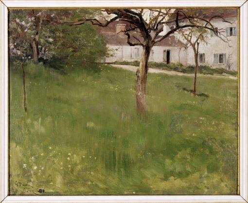 A Garden in Grez | Georg Pauli | Oil Painting