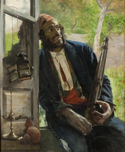 A Gipsy | Hugo Birger | Oil Painting