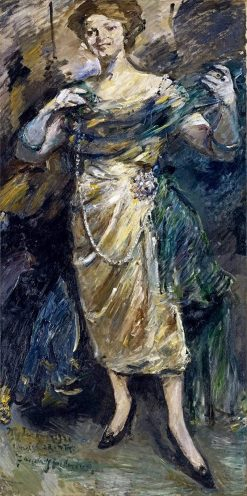 Fashion Show | Lovis Corinth | Oil Painting