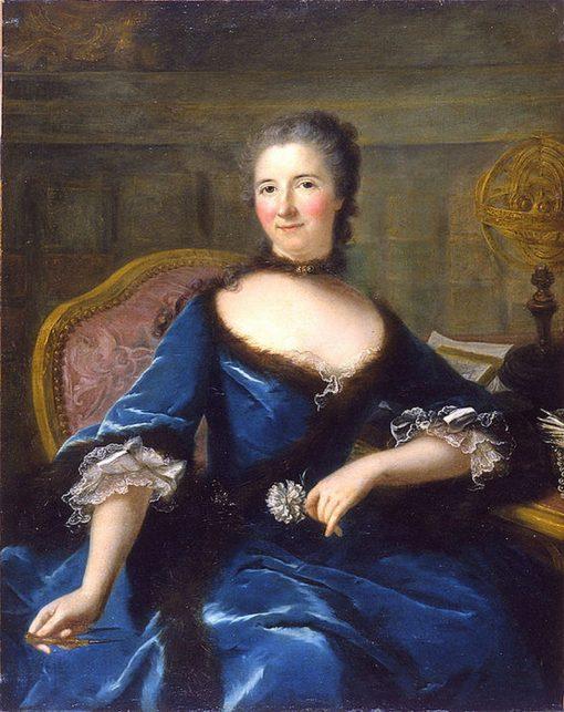 Portrait de Emilie Le Tonnelier de Breteuil