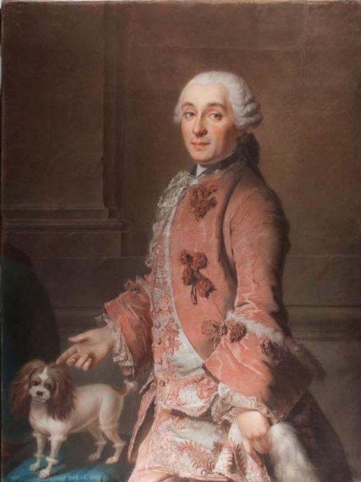 Portrait of a Man | Marianne Loir | Oil Painting