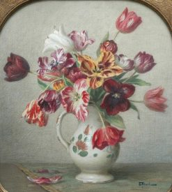 Tulips   Ernest Filliard   Oil Painting