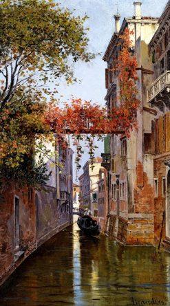 A Venetian Canal | Antonietta Brandeis | Oil Painting