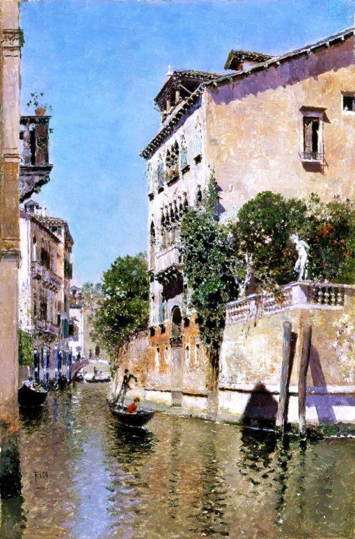 Rio Maria | Martin Rico y Ortega | Oil Painting