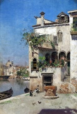 A Quiet Afternoon in Venice | Martin Rico y Ortega | Oil Painting