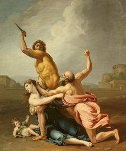 A Group from the Rape of the Sabines (after Nicolas Poussin) | Samuel Woodforde | Oil Painting