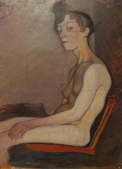 Female Nude | Olof Sager-Nelson | Oil Painting