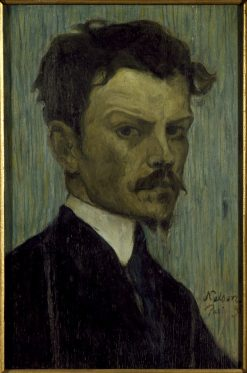 Self Portrait | Olof Sager-Nelson | Oil Painting