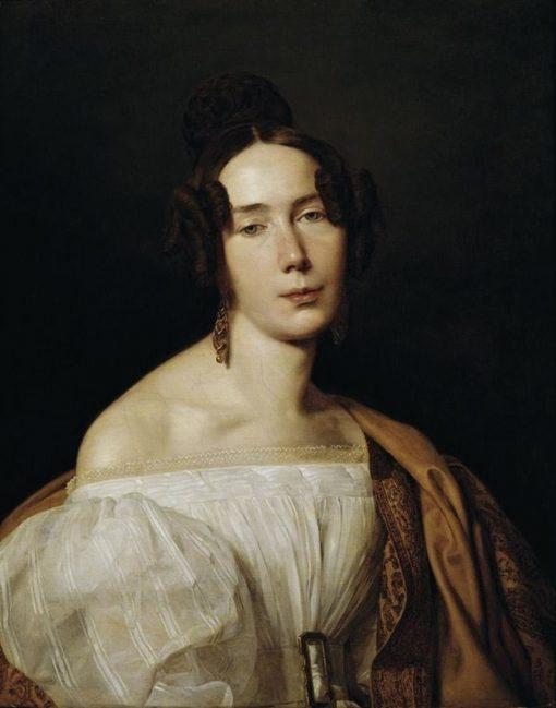 Magdalena Werner   Ferdinand Georg Waldmuller   Oil Painting