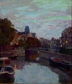 Twilight | Friederich Kallmorgen | Oil Painting
