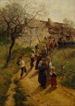 A Spring Day | Friederich Kallmorgen | Oil Painting