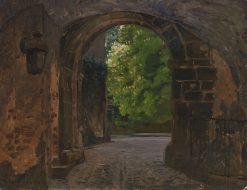 The Castle Gate | Friederich Kallmorgen | Oil Painting