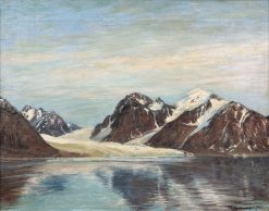 Glacier in Spitzbergen | Friederich Kallmorgen | Oil Painting