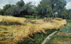 Oat Harvest | Friederich Kallmorgen | Oil Painting