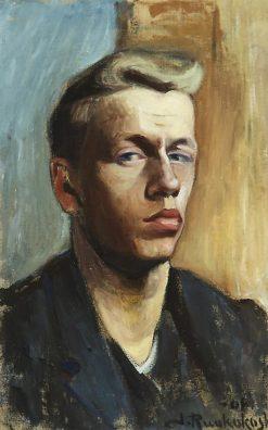 Self Portrait | Jalmari Ruokokoski | Oil Painting