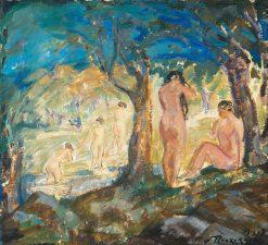 Bathers | Jalmari Ruokokoski | Oil Painting
