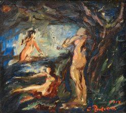Nymphs | Jalmari Ruokokoski | Oil Painting