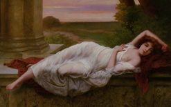 Reclining Beauty | Vincent G. Stiepevich | Oil Painting