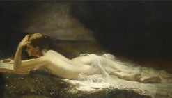 Reclining Nude | Vincent G. Stiepevich | Oil Painting