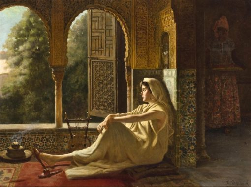 Contemplation   Vincent G. Stiepevich   Oil Painting