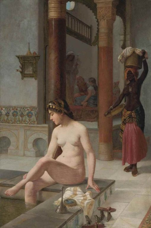 The Turkish Bath | Vincent G. Stiepevich | Oil Painting