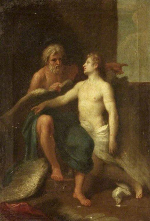 Daedalus and Icarus | Samuel Woodforde | Oil Painting