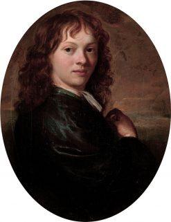 Self Portrait   Carel de Moor   Oil Painting