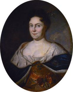 Portrait of Catherine I   Carel de Moor   Oil Painting