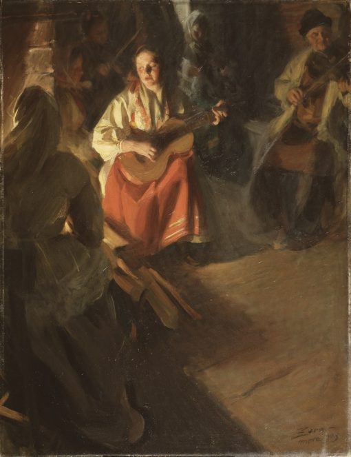A Musical Family | Anders Zorn | Oil Painting