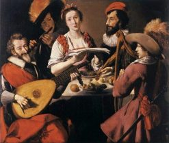 The Concert | Paul La Tarte | Oil Painting