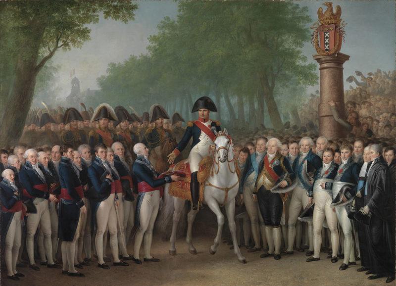 Napoleons Entry in Amsterdam