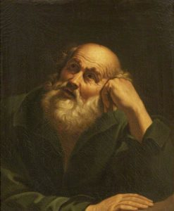 Head of Saint Peter (after Guido Reni) | Samuel Woodforde | Oil Painting