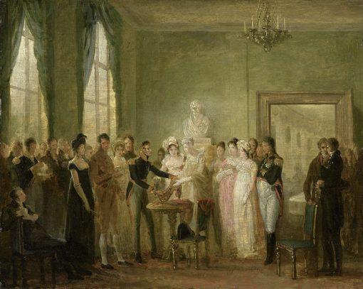 The Presentation | Mattheus Ignatius van Bree | Oil Painting