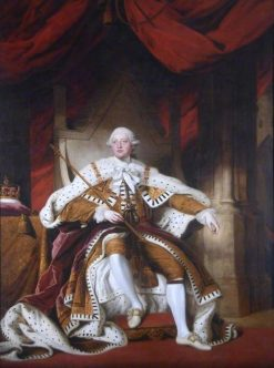 George III | Samuel Woodforde | Oil Painting
