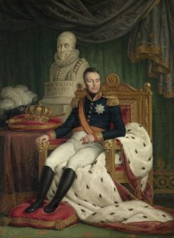 King Willem I | Mattheus Ignatius van Bree | Oil Painting